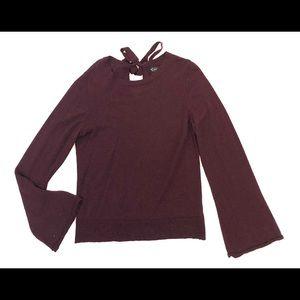 Nanette Lepore Red Merino Wool Sweater